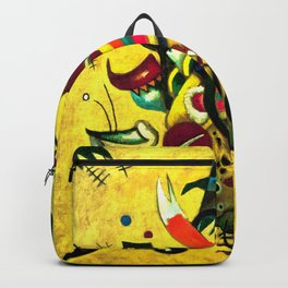 Wassily Kandinsky - Points - Abstract Art Backpack