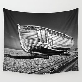 Derelict Boat Wall Tapestry