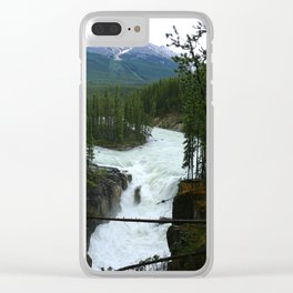 Sunwapta Falls View Clear iPhone Case