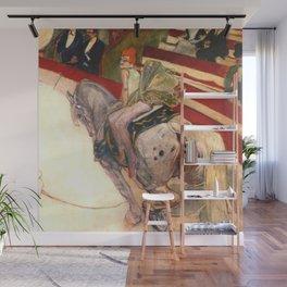 "Henri de Toulouse-Lautrec ""Equestrienne (At the Cirque Fernando)"" Wall Mural"