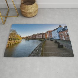The Historic Quayside, Norwich Rug