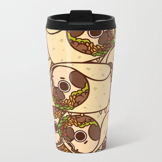 Puglie Burrito Metal Travel Mug