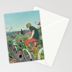 Bicycle Paths Stationery Cards
