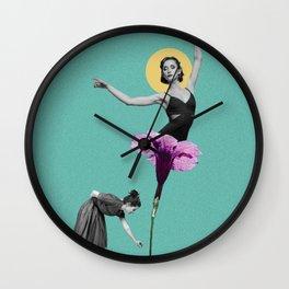 The Flower Dancer Wall Clock