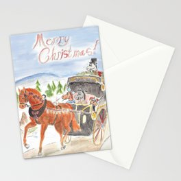 Christmas in Horse Valley Stationery Cards