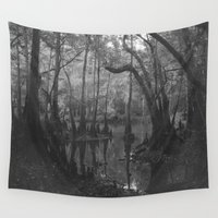 florida Wall Tapestries featuring Florida Swamp by Kevin Russ