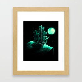 Detour Framed Art Print