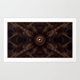 Down to the Core Art Print