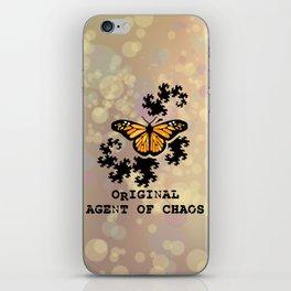 Original Agent of Chaos iPhone Skin