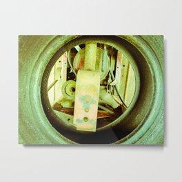 See Through Tire Metal Print