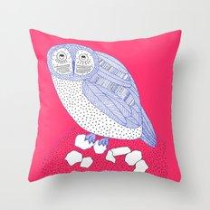 Just Another Owl Throw Pillow