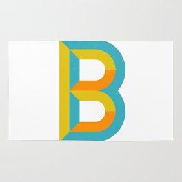 Letter B Rug