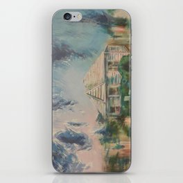 House with Picket Fence iPhone Skin
