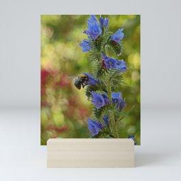 Do not disturb! I'm beesy! Mini Art Print