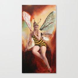 Ms. Bea Canvas Print