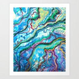 fee blüte Art Print