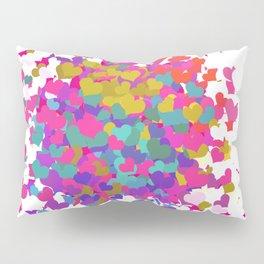 Heart leaf colorful Pillow Sham