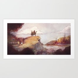 Eighteen-twelve - Niagara Art Print