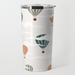 Dreamy Air Baloons in sky Travel Mug