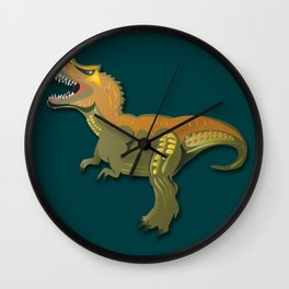 Dinosaur - 'A Fantastic Journey' Wall Clock