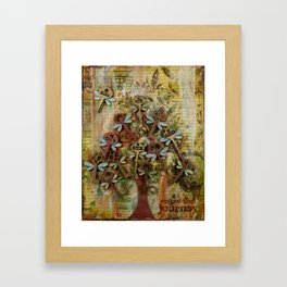 Key Tree Framed Art Print