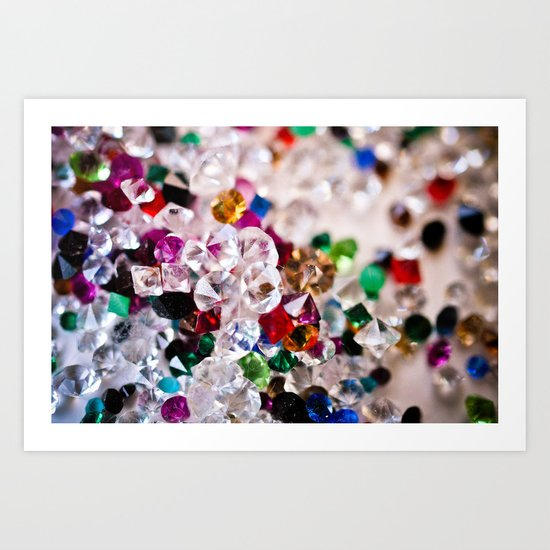 Diamonds 1 Art Print