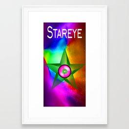 Stareye Framed Art Print