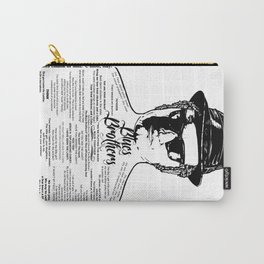 Jake Blues Brothers tattooed 'Four Fried Chickens' Carry-All Pouch