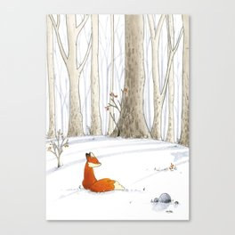 Redfox Canvas Print