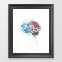 Thinkers Framed Art Print