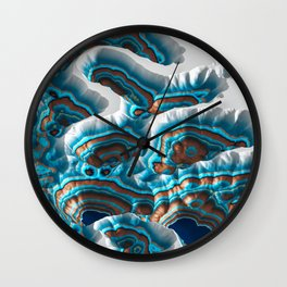 Colorful Canyon Landscape Wall Clock