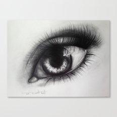 Eye Sketch 2 Canvas Print