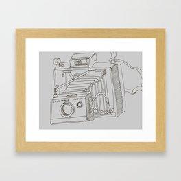Land Camera Framed Art Print