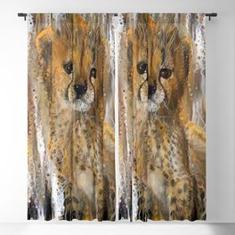 You're a Cheetah, But I Love You Baby Blackout Curtain