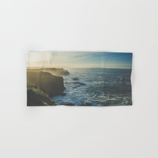 I Will Come Back But First... // Landscape // Edge of Cliff Photography #society6 #art #prints Hand & Bath Towel