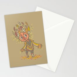 Fall buddy Stationery Cards