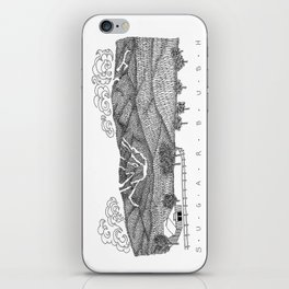 Zentangle Sugarbush, Vermont iPhone Skin