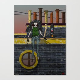 Music of the Fate Canvas Print