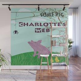 Charlotte's Web Wall Mural