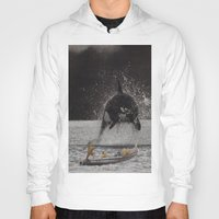 orca Hoodies featuring Orca by Lerson