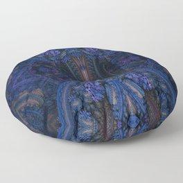 Paisley Blue Floor Pillow