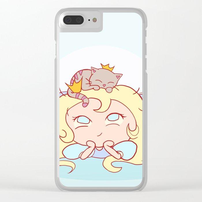 Lil' Princess Best Friends Clear iPhone Case