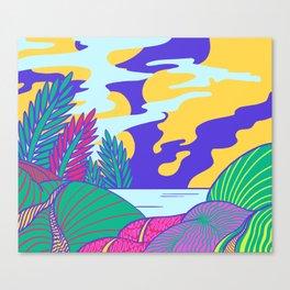 Fantasy Valley Canvas Print