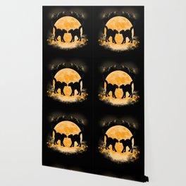 Black Cats Paradise Wallpaper