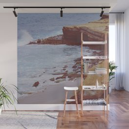 Stone and Sea Wall Mural