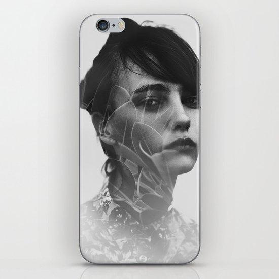 Lady Leaves iPhone & iPod Skin