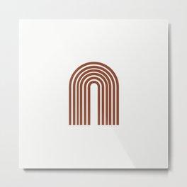 ARCOBALENO - OVER THE RAINBOW - Modern abstract art Metal Print