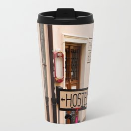 Hostel Parking Travel Mug