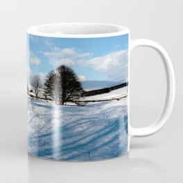 Sparrow pit the peaks. Coffee Mug
