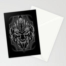 Pinstripe Megatron Stationery Cards